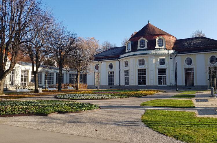 Kurgarten Reichenhall Herbst 3