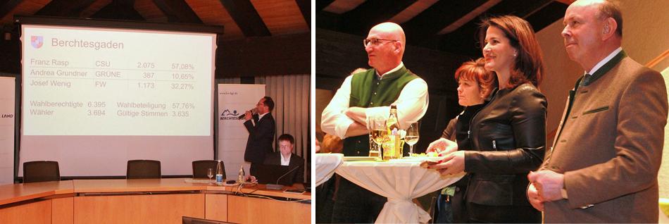 Kommunalwahl Berchtesgadener Land 2020 Wahlabend Landratsamt