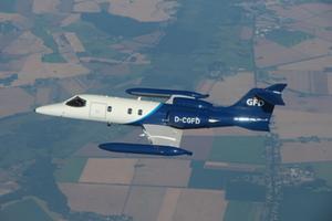 LR35A D-CGFD im Flug