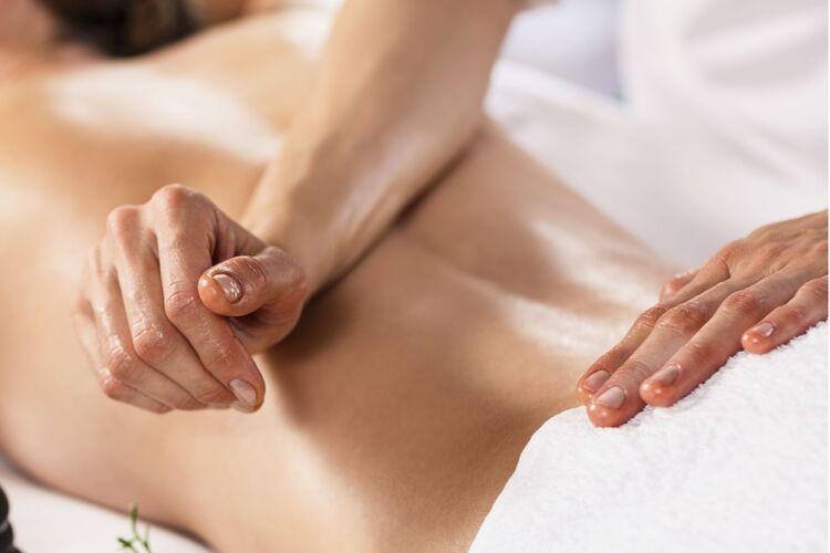 Massagefoto Segment