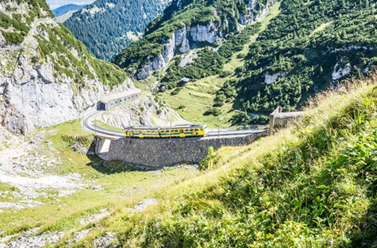 Menueknotenpunkt Gipfelglueck Wendelsteinbahn