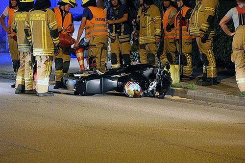 Motorrad Unfall Frl Brk 2