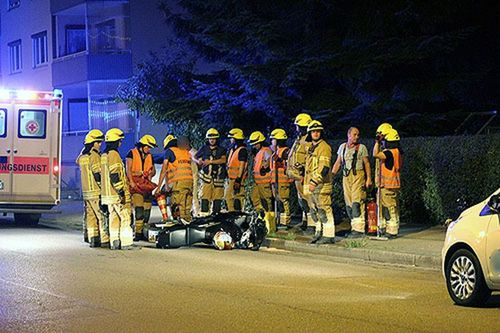 Motorrad Unfall Frl Brk 3