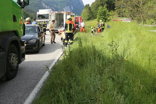 Motorrad Unfall Schneizlreuth Brk 2