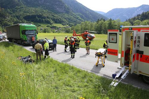 Motorrad Unfall Schneizlreuth Brk 4