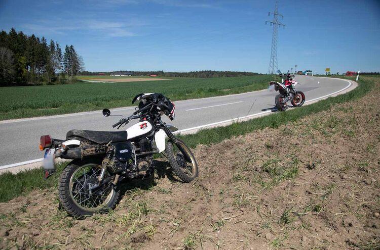 Motorradunfall Palling