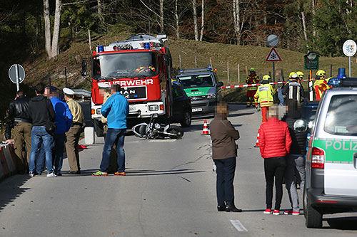 Motorradunfall Schneizlreuth Brk Bgl 5