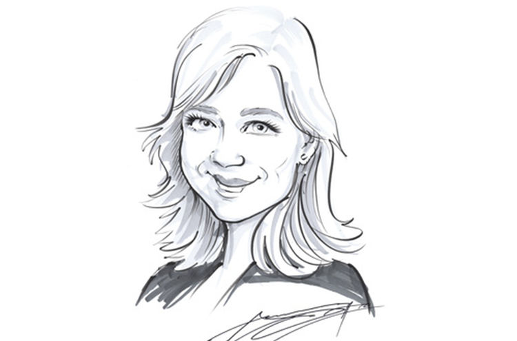 Nina Liebold Karikatur