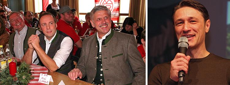 FC Bayern Trainer Niko Kovac Fantreffen Inzell 2018