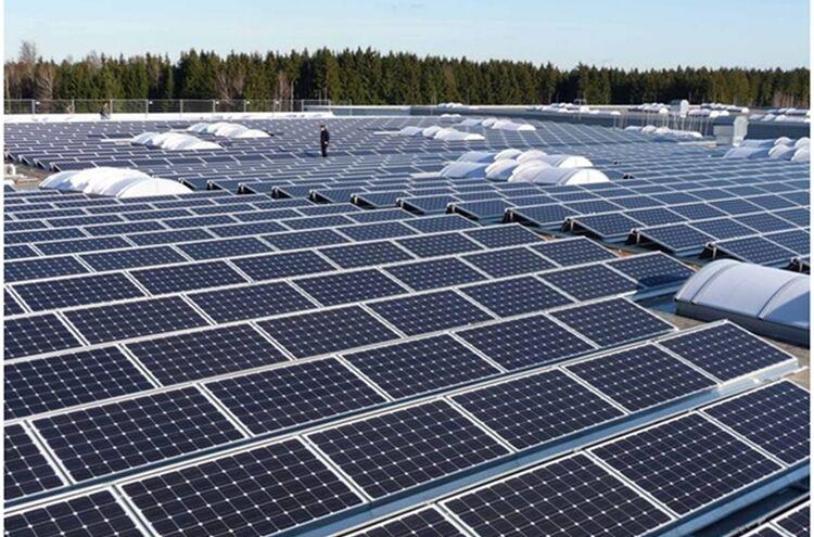 Photovoltaikanlage Symbolbild