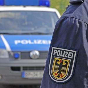 Polizeiauto Blau