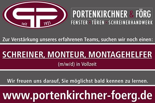 Portenkirchner Banner