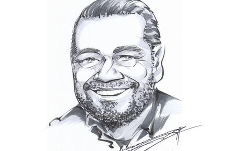 Portrait Hellwig Hellwig 500 Karikatur