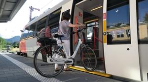 Fahrradtransport Zug