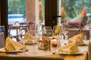 Restaurant serviette