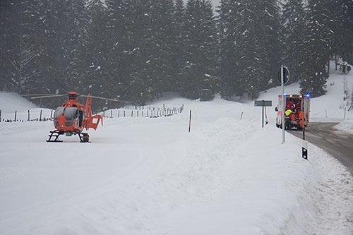 Rettung Hochschwarzeck Brk Bgl 2