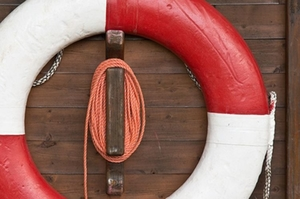 rettungsring-symbolfoto