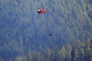 Hubschrauber Bergwacht