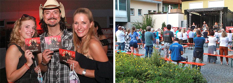 Stefanie Hertel Lanny Lanner Johanna Mross Sommerbühne Nuts Traunstein 2020