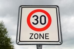Schild 30 Zone