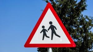 Vorsicht kinder Schild