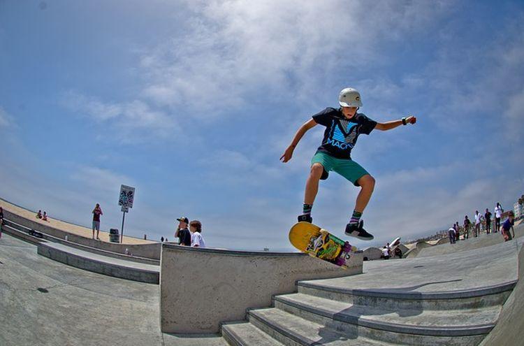 Skateboard Symbolfoto