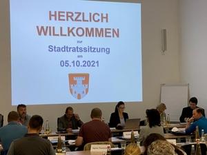 Stadtratssitzung Laufen 211005
