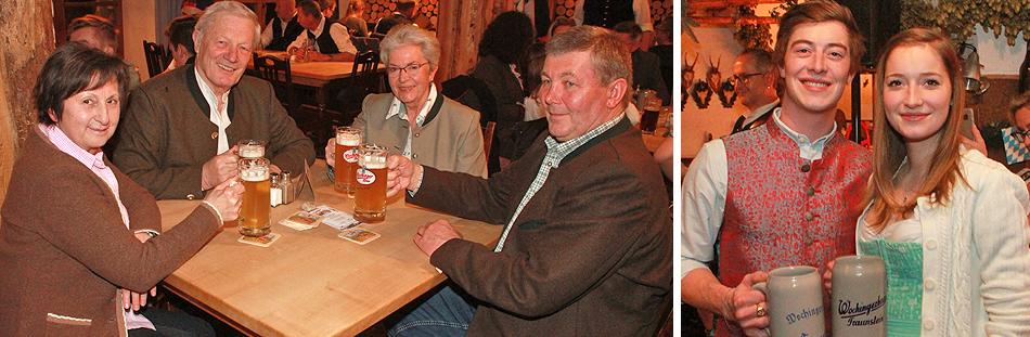 Starkbieranstich im Wochinger Brauhaus Traunstein 2020