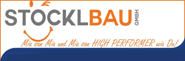 Stöcklbau Banner Unterseite - Azubiwoche