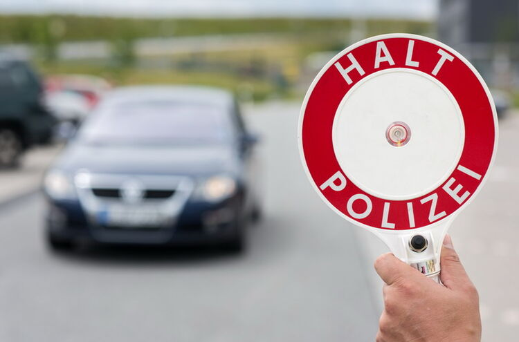 Symbolbild Grenzpolizeiliche Kontrolle