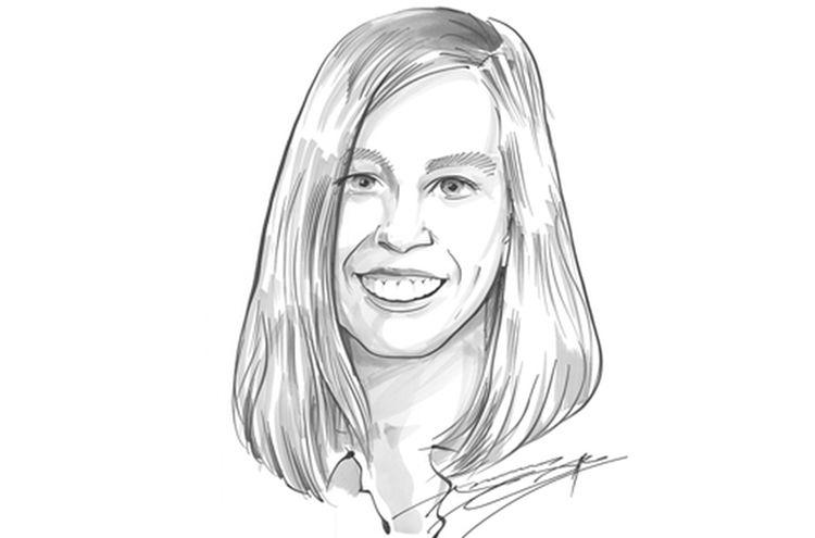 Tanja Bory Karikatur