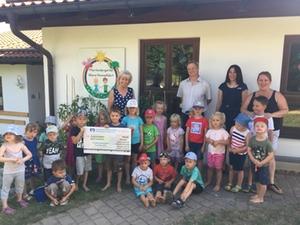 Spendenübergabe Puzzle Day 2019 Teisendorf