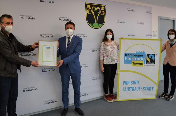 Titelerneuerung Fairtrade Stadt