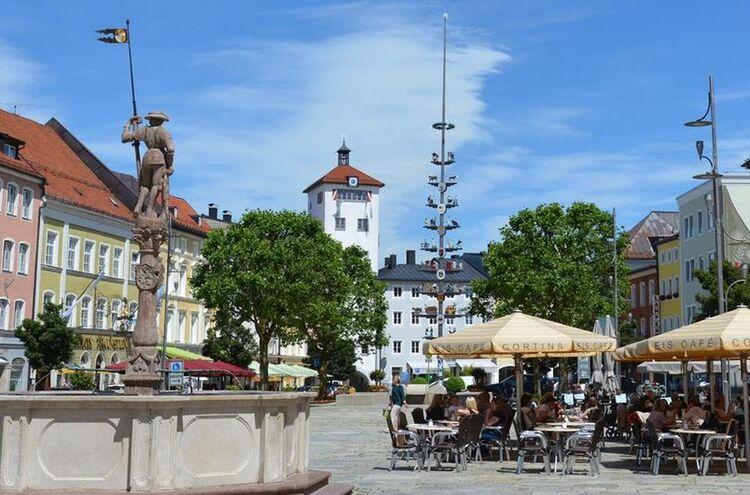 Traunstein Stadtplatz