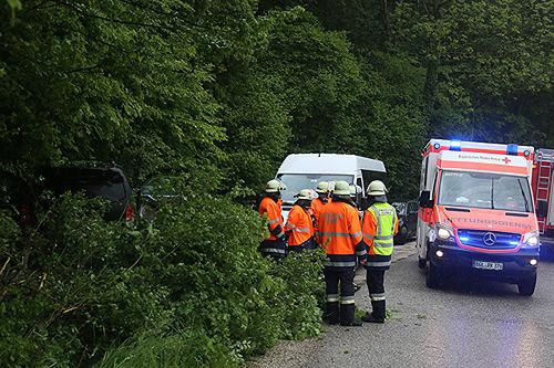 Unfall B20 Bichlbruck