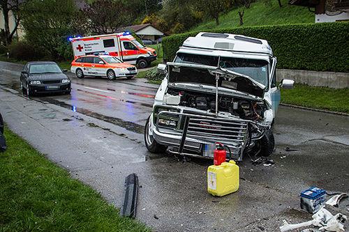 Unfall Laufen B20 2