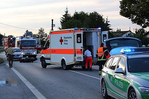 Unfall Rollerfahrer 4