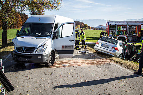 Unfall Teisendorf Brk Bgl 4
