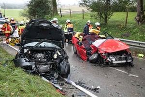 Schwerer Verkehrsunfall zwischen Palling und Wiesmühl