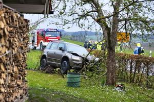 Unfall SChnaitsee HArpfing