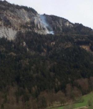 Waldbrand Untersberg