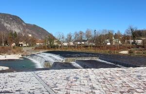 Wasserkraftwerk Saalach