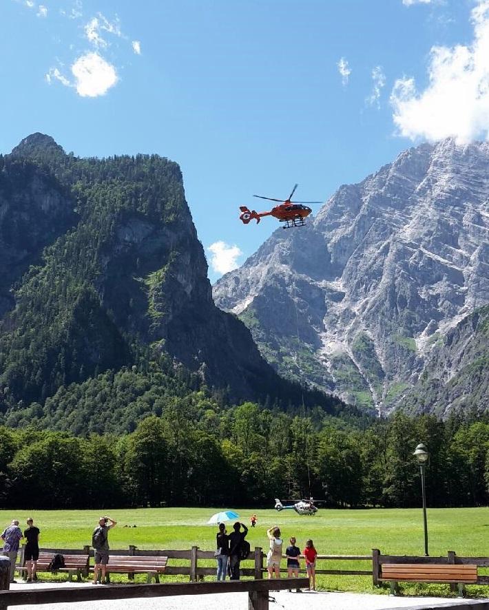 Bergunfall Berchtesgaden