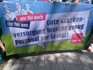 Protest Pflegekräfte ver.di Bad Reichenhall