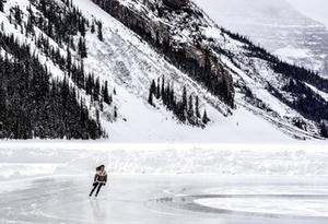 Eislaufen Schlittschuhlaufen