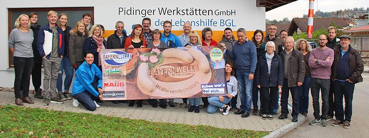 Bayernwelle Weißwurstfrühstück 02 November 2018 in Piding