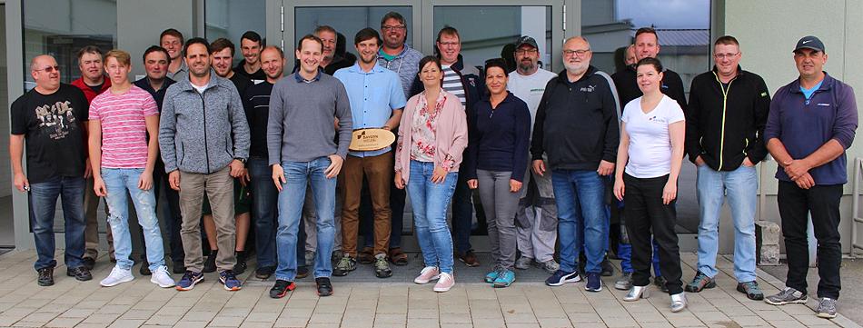 Bayernwelle Weißwurstfrühstück 10 Mai 2019 in Traunreut