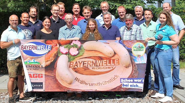 Bayernwelle Weißwurstfrühstück 15 Juni 2018 in Traunreut