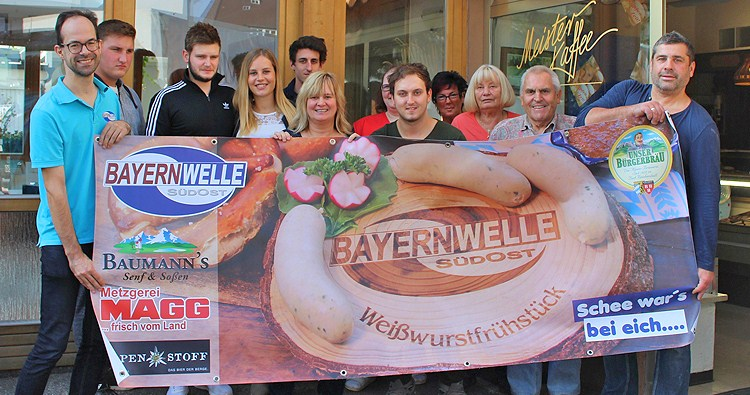 Bayernwelle Weißwurstfrühstück 19 Oktober 2018 Freilassing