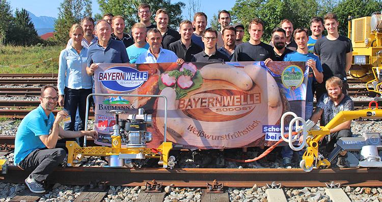 Bayernwelle Weißwurstfrühstück 21 September 2018